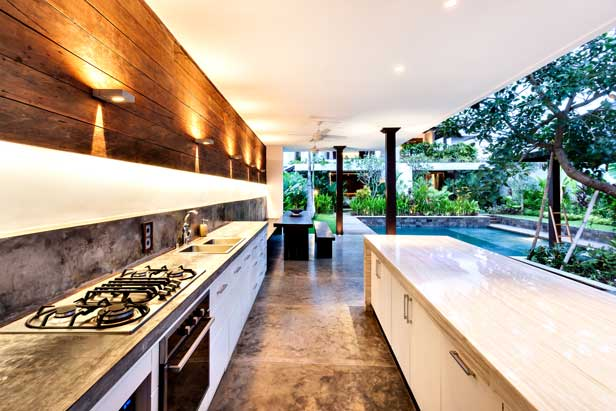 depositphotos 114168712 Outdoor kitchen with a stove