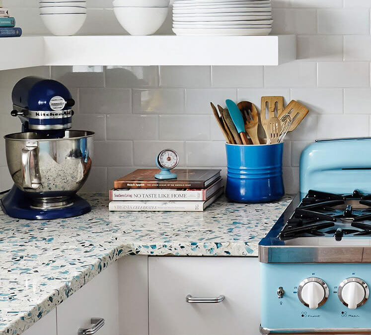 Recycled Aluminum Countertops : Recycled glass engineered stone countertops affinity