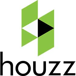 houzz logo white
